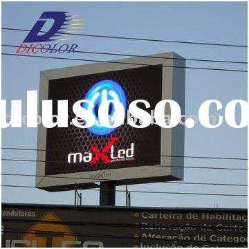 P16 waterproof lcd tv led With CE