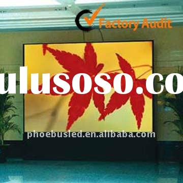 P7.62 SMD 3-in-1 Full color Indoor LED curtain Display with High Resolution