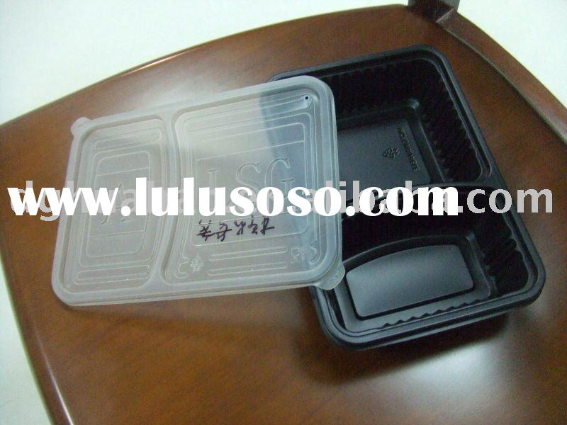PET/PVC/PS/PP Plastic food tray/Food Packing Box
