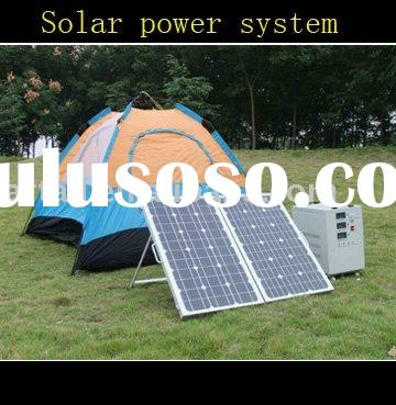 Portable Solar power system/generator/inverter/system for home/family and outdoor using