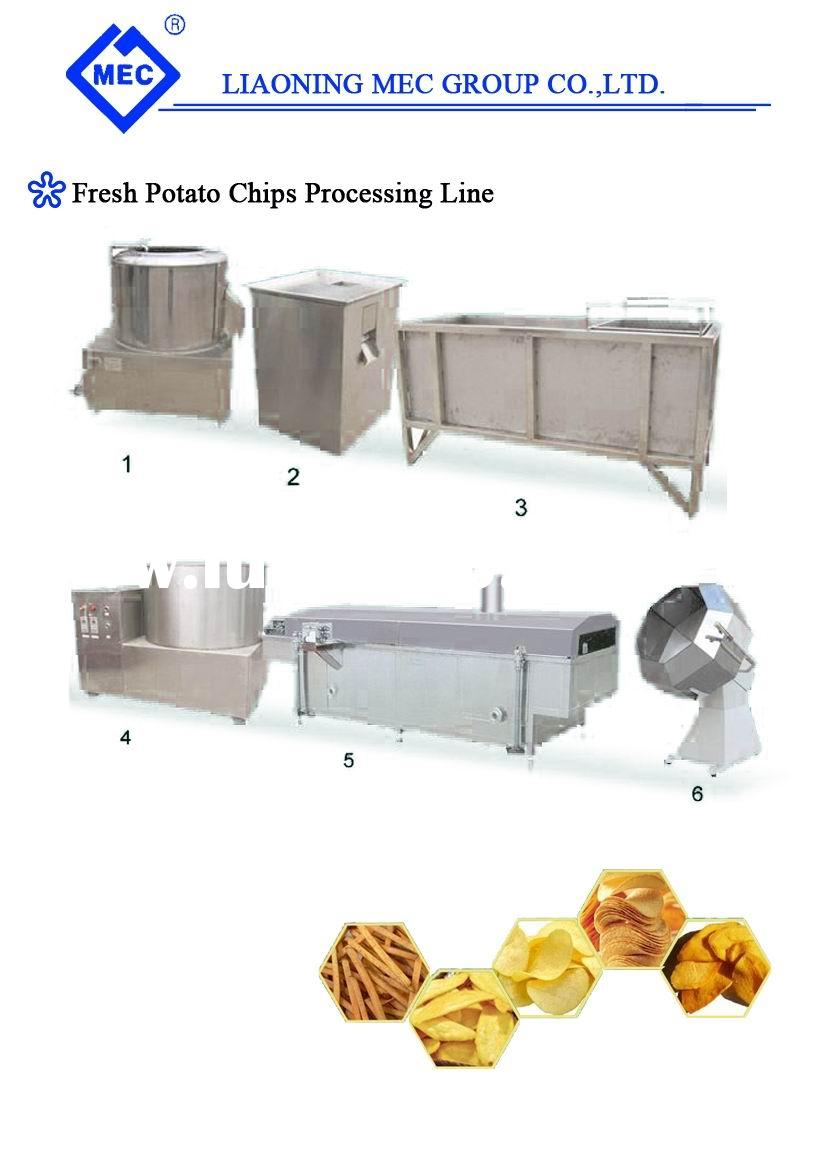 Potato Chips Machine / Potato Chips Production Line