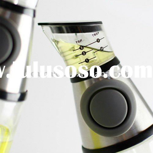 Press and Measure Oil Dispenser pour exactly where you want