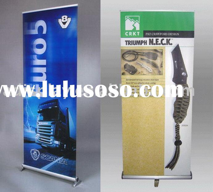 Retractable banner stand (Roll up display)