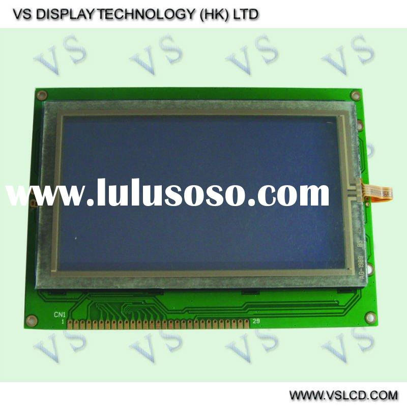 STN Blue 240x128 Graphic LCD Module LCD display with Touch Panel LCD