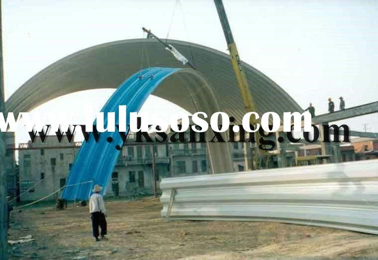 SX K-span Arch Metal Roll Forming Machine / Building System Machinery