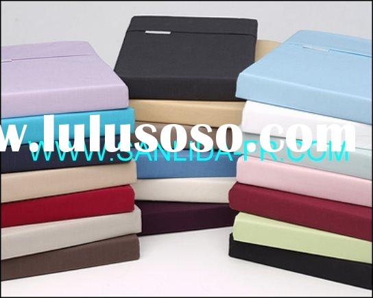 Sanlida 100% polyester inherently fire retardant fabric for bed sheet