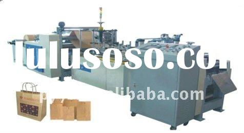 Semi-automatic Square Bottom Paper Bag Making Machine