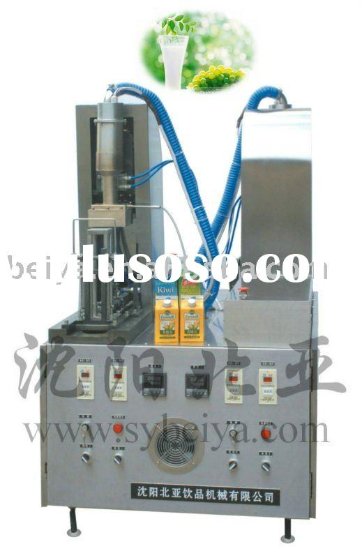 Semi-automatic Whipped Cream Filling and Sealing Machine