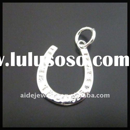Silver jewelry charms for bracelets