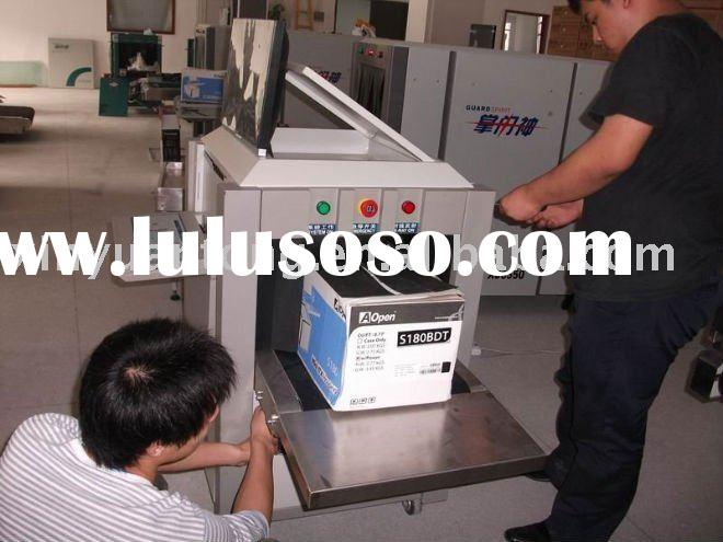 Small parcel/luggage X ray scanner machine
