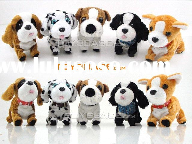 Sound control battery operated dog toy SAM93237