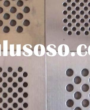 Stainless Steel/Aluminum/Copper/Galvanized Perforated Metal Mesh