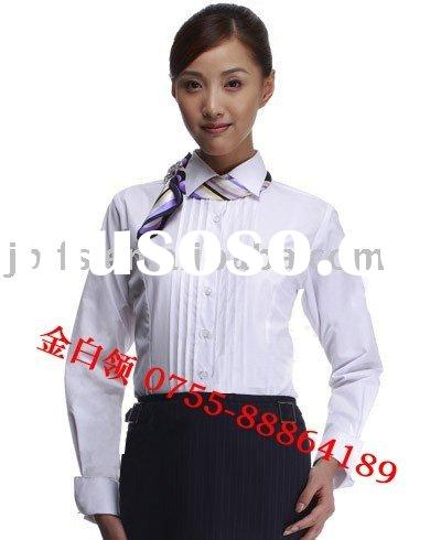 Supply bank staff in the hotel shopping arcades of Uniform shirt