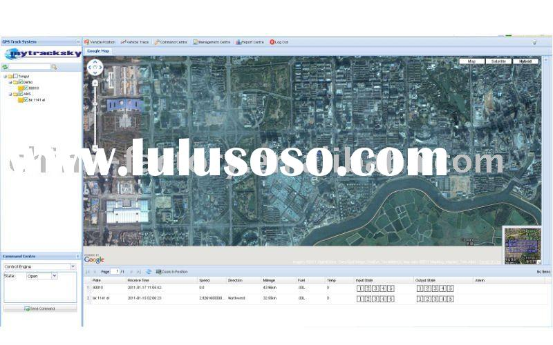 TY-web based gps tracking software