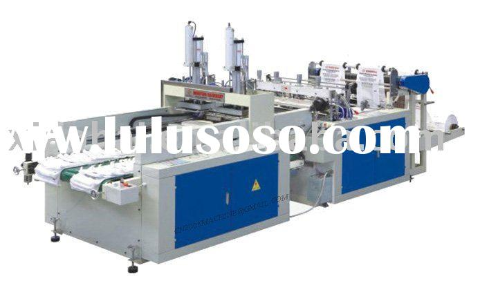 T-shirt plastic bag making machine