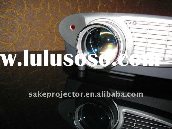 The Newest Full HD LED Home Theater Projector With Highest Resolution Max 1920*1080P, Support 3D Mov