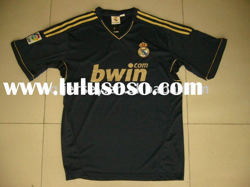 The latest 2011 2012 season Real Madrid away soccer jersey