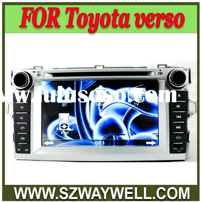Toyota Verso 2011 2 Din HD Car DVD with GPS/ Blue tooth/I-POD control/Radio/Amplifier