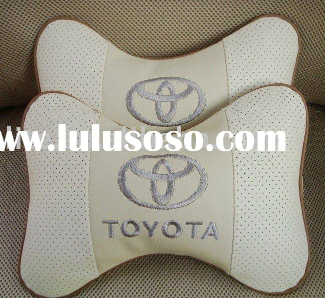 Toyota car neck pillow car seat neck pillow inflatable car pillow car headrest pillow cartoon neck p