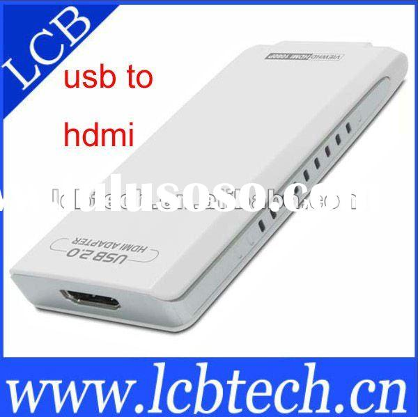 USB TO HDMI adapter with Audio 1920*1080