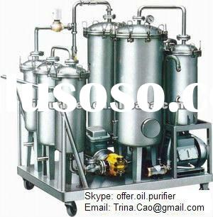 Used cooking oil purifier, vegetable oil filter machine