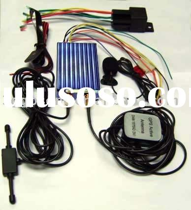 Vehicle GPS tracker with GSM GPRS
