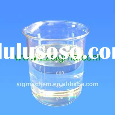 Water decoloring agent for waste water treatment