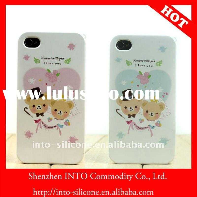 Wedding gift Korea his-and-her iphone 4 case for couple or lover