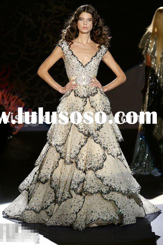 Wholesale retail Zuhair Murad Exquisite style Evening dress Formal dress Manufactures