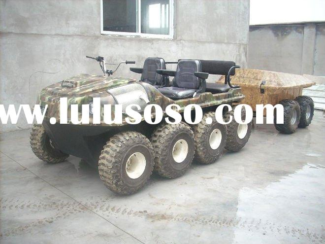 Wild Panther 8x8 atv flail mower