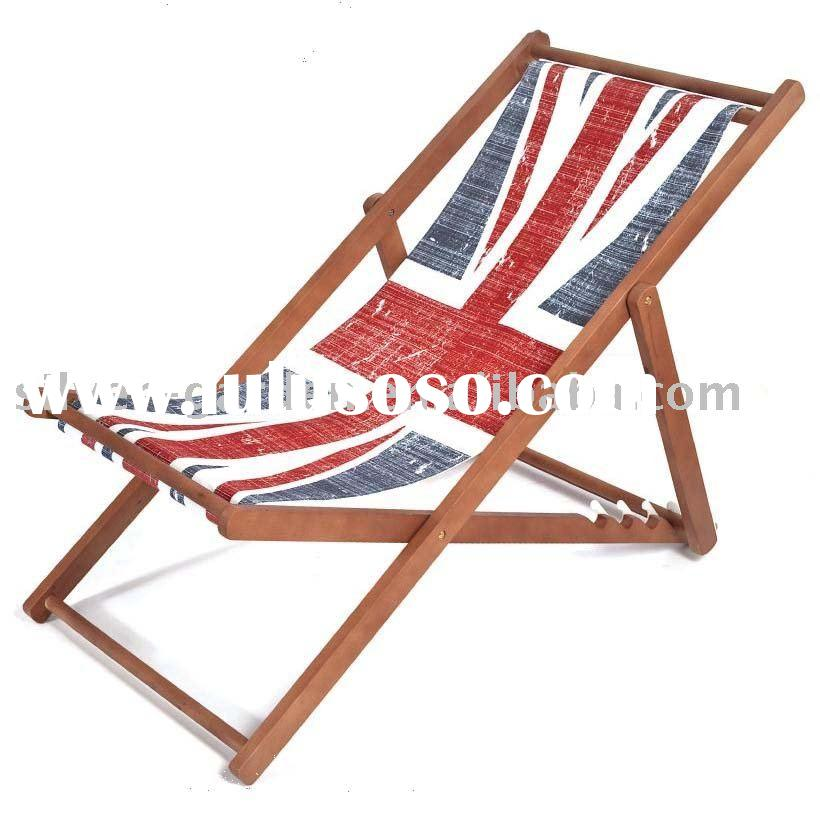 Plans for wooden beach chairs ~ working idea
