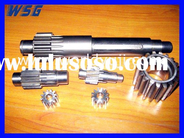 Worm shaft gear shaft