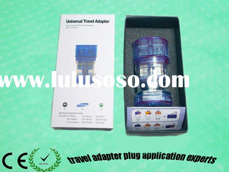 YD-931L-B us au eu adapter plug to uk travel ac power plug