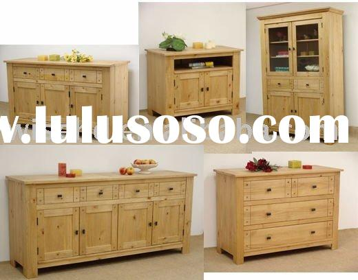 (W-L-W0445) oak wood living room furniture