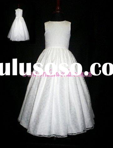 attractive lace flower girl dresses
