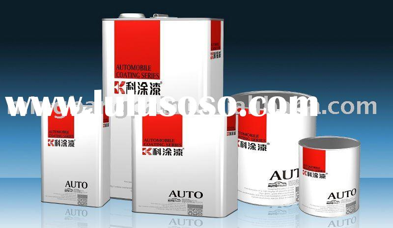auto paint topcoat- 2K Solid Colors- KETU series - auto paint - car paint