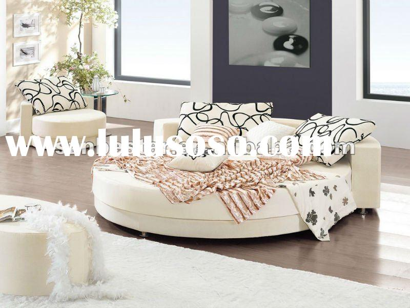 bedroom furniture king size round bed mattress