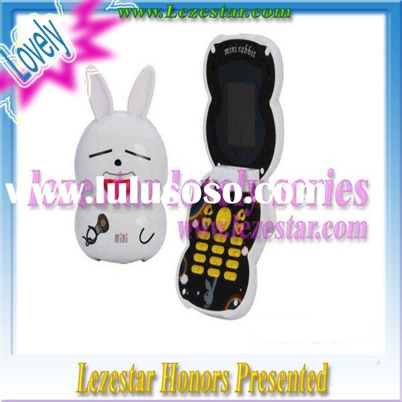 best offer !!1.5 inch mini gsm lovely dual sim dual working mobile phone cute hand phone cartoon cel