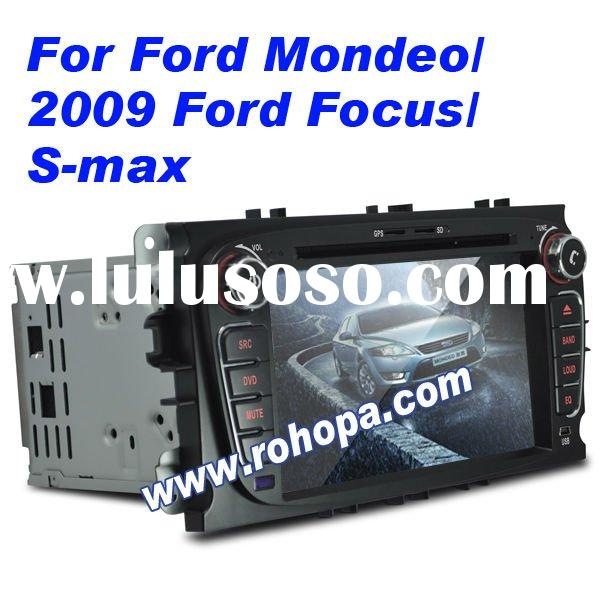car dvd gps navigation system for Ford Mondeo/2009 Ford Focus/S-max with full canbus/arm11 high spee