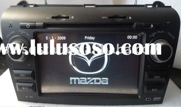 car dvd old mazda 3 04-09 with GPS, bluetooth, steer wheel control, TV...functions 7935
