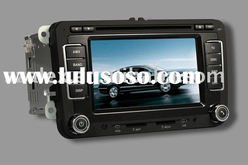 car dvd players AL-7019 with DVD Car player GPS TV Radio Buetooth Touchscreen
