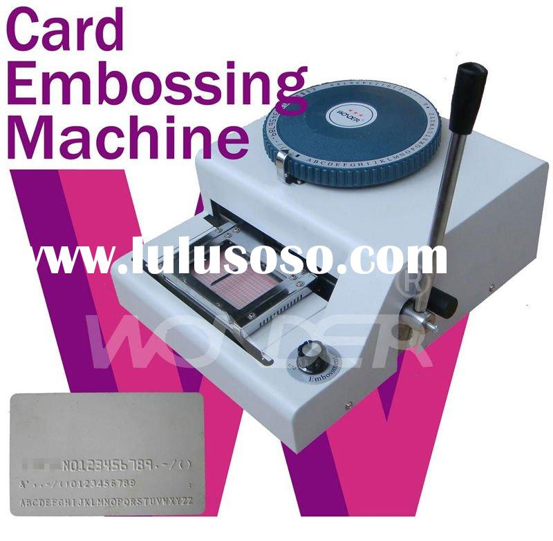 Embossing Machines For Card Making Card Embossing Machines/pvc