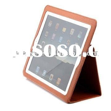 chinese dongguan New folio super slim leather case for ipad 2