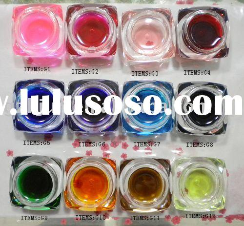 color uv gel ,color nail gel