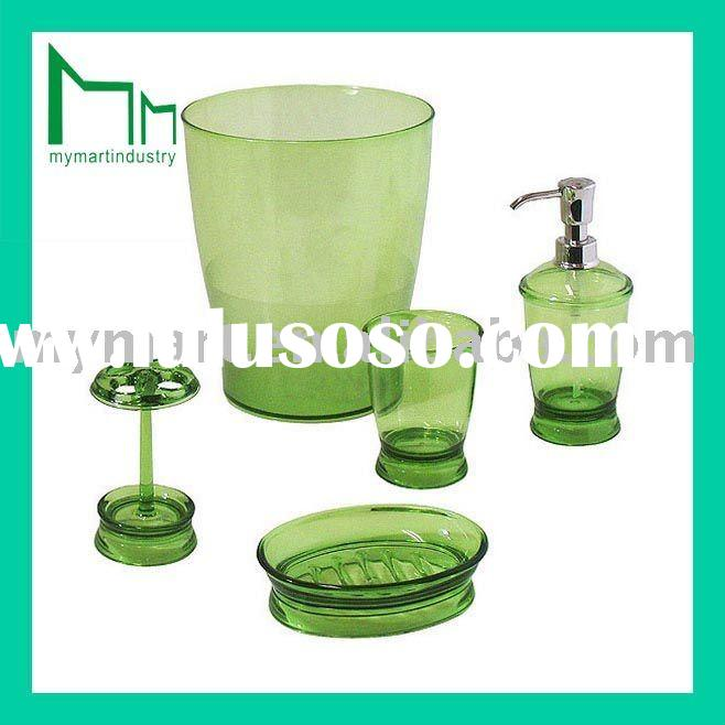 deluxe bathroom set plastic bath sets bath product MM-BA042