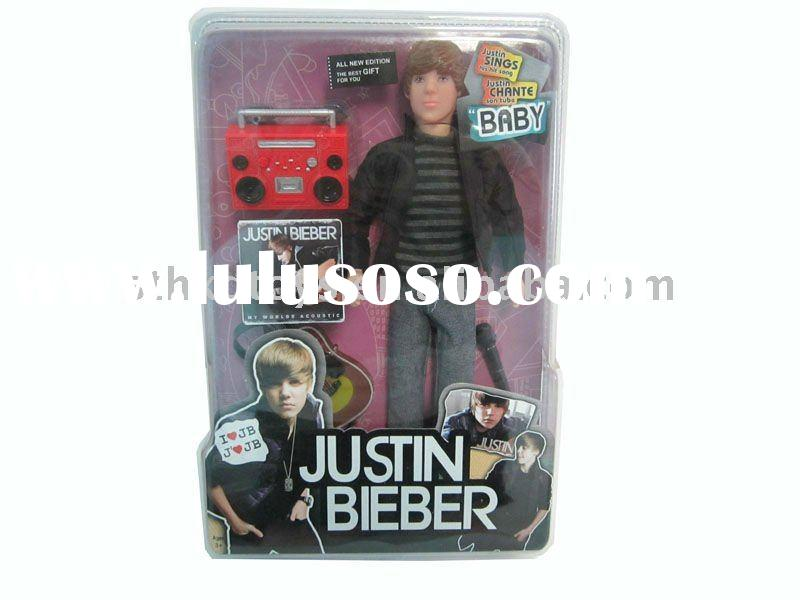 doll with instrument justin bieber