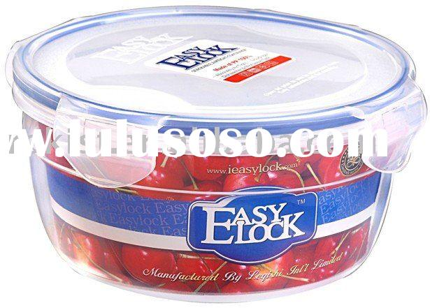 easylock plastic box food container with lock