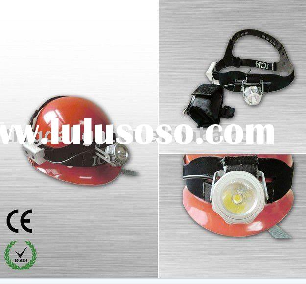 explosion-proof led helmet lights for mining, hiking, fishing