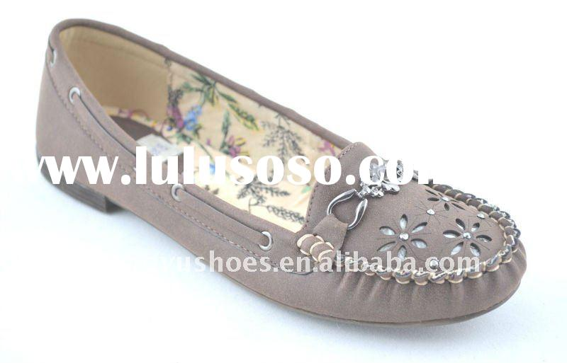 fashion jewel flat women casual shoes and 2012 women shoes