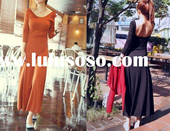 fashion ladies long dress